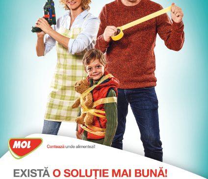 MOL România desfăşoară o campanie dedicată sărbătorilor de iarnă