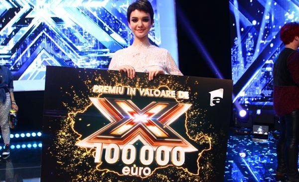 Olga Verbiţchi este câştigătoarea celui de-al şaselea sezon X Factor