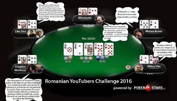 PokerStars Romanian YouTubers Challenge