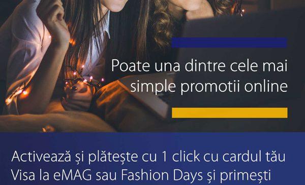 """Visa lansează în România """"Poate cele mai simple promoţii din lume"""""""