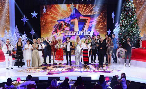 Revelionul Starurilor 2017 aduce la Antena 1 zeci de vedete și măști impresionante