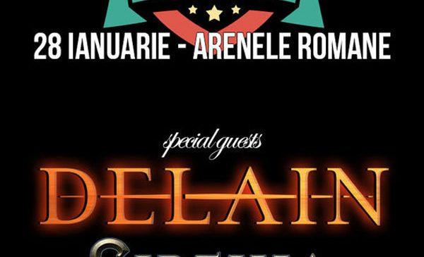 Sirenia cântă la gala Metalhead Awards care se mută la Arenele Romane