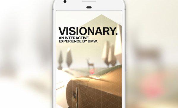 """BMW prezintă """"Visionary"""" – Google Spotlight Story"""