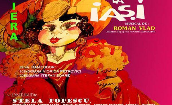 "Stela Popescu va interpreta rolul titular in musicalul ""Chirita la Iasi"" in regia lui Dan Tudor"