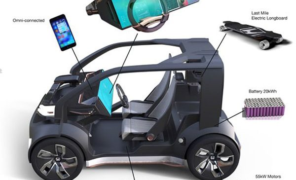 Honda reveals 'Cooperative Mobility Ecosystem' at CES 2017