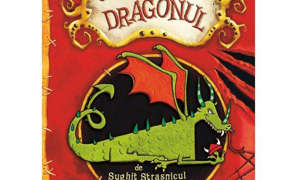 Seria CUM SĂ-ȚI DRESEZI DRAGONUL, de Cressida Cowell, apare la editura Nemi pentru copii