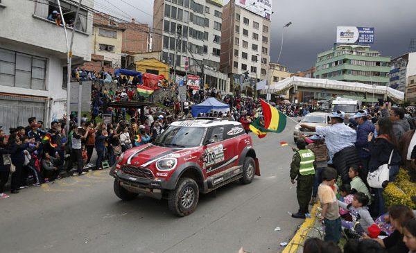 Raliul Dakar 2017 – etapa a şaptea: La Paz – Uyuni, 622 km