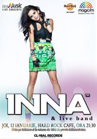 Inna - Hard Rock Cafe