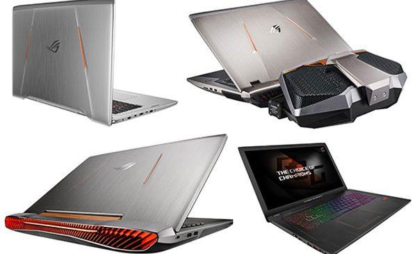 ASUS Republic of Gamers anunță laptopurile de gaming echipate cu a șaptea generație de procesoare Intel