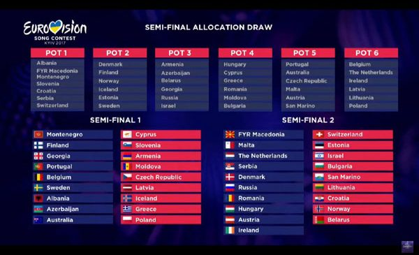 Eurovision 2017: România va concura în a doua semifinală