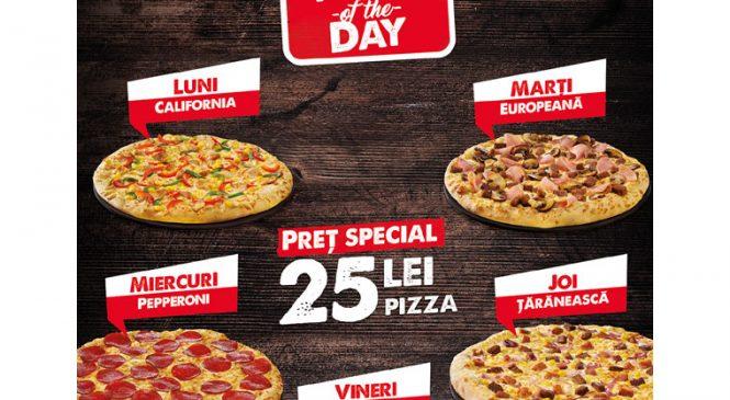 Pizza Hut Delivery lansează oferta Pizza of the Day
