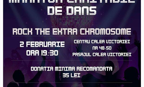 """Maratonul de caritate """"ROCK the EXTRA chromosome"""""""