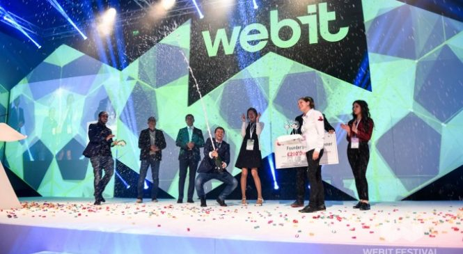 Webit Festival again will give 200 000 euro seed investment for the winner of the Founders games!