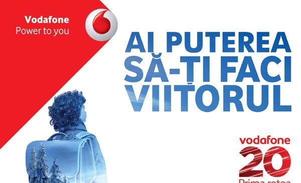 Vodafone România lansează campania de brand de 20 de ani și anunță internet nelimitat gratuit de Dragobete