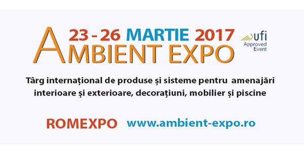 Experții în șeminee se reunesc la AMBIENT EXPO, între 23 și 26 martie, la Romexpo