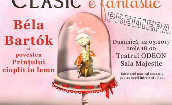 """Teatrul Odeon și Asociația """"Clasic e fantastic"""" au bucuria să anunțe o nouă premieră"""