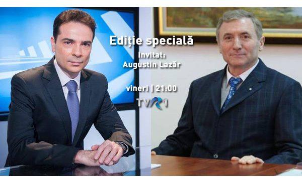 """Primul interviu al Procurorului General al României, într-o """"Ediţie specială"""" la TVR 1"""