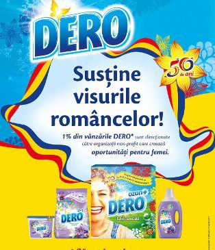 """DERO lansează campania integrată """"DERO susține visurile româncelor"""""""