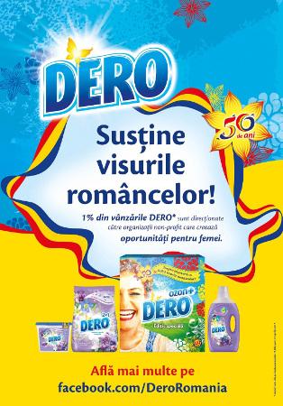 DERO susține visurile româncelor