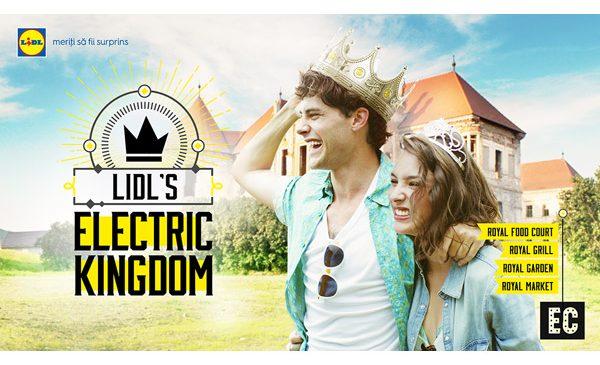Lidl prezintă Electric Castle și te invită să descoperi Lidl's Electric Kingdom