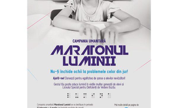 Maratonul Luminii, un eveniment unic în România, va avea loc pe 4 martie la Buzău