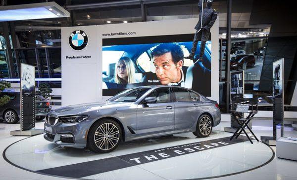 Noul BMW Seria 5 într-o prezentare specială la BMW Welt