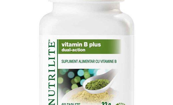 NUTRILITE lansează VITAMINA B PLUS cu acțiune dublă