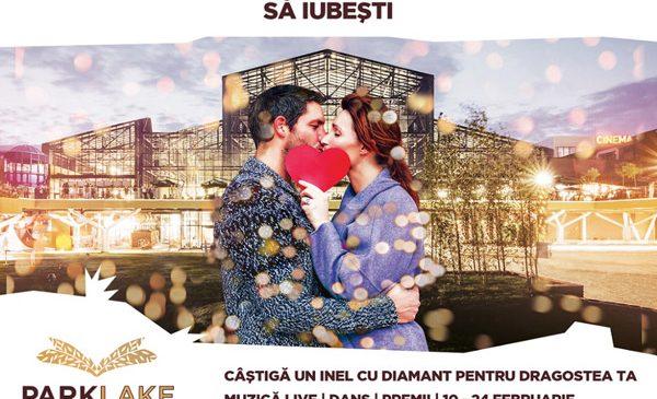 ParkLake Shopping Center și Pro FM topesc o inimă de gheață și oferă un inel cu diamant de Valentine's Day