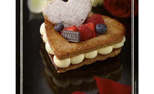 Brutăriile Paul includ în meniu o colecție de deserturi dedicată lunii îndrăgostiților