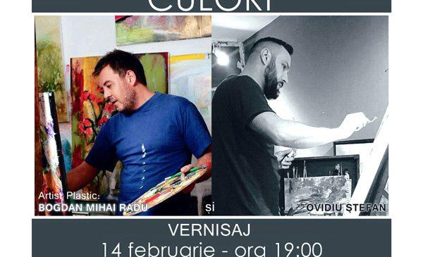 """Expoziție """"Spring în 2 culori"""" la Galeria creart"""