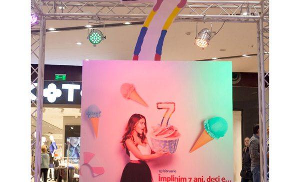 Mai mult decât o aniversare, cei 7 ani de Sun Plaza au fost transformați de pastel într-o sărbătoare de senzație