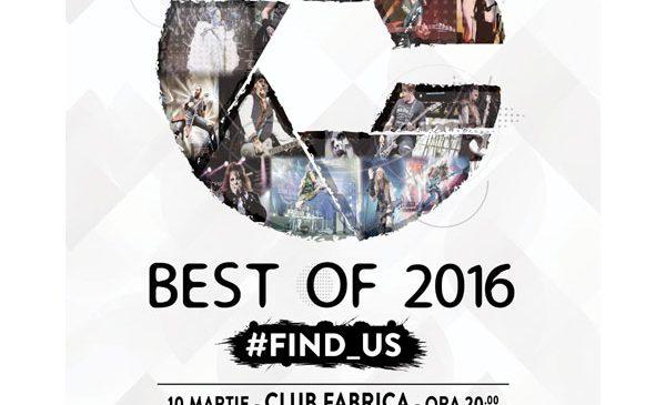 Expozitie de fotografie de concert #FIND_US – Best of 2016 – in club Fabrica