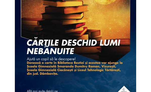 Peste 1.000 de cărți dăruite în campania Biblioteca Bestiei