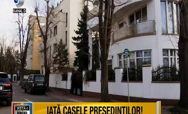 "Casele presedintilor, sambata, la ""Asta-i Romania"""