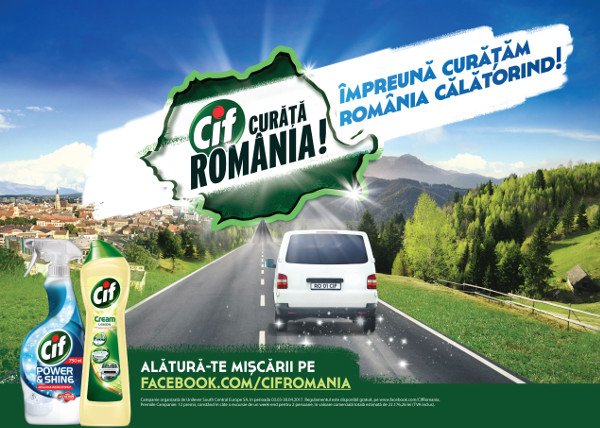 CIF si MullenLowe - Împreună Curatam Romania Calatorind