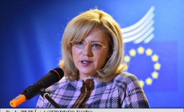 Comisarul european Corina Crețu se opune aplicării de sancțiuni țărilor din Europa de Est (FAZ)