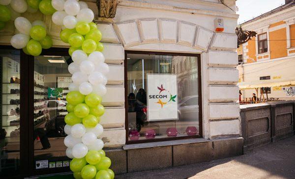 Secom® ajunge la Cluj-Napoca şi lansează un magazin propriu