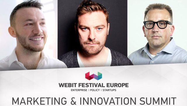 Learn how to build your marketing strategy from industry's best at Webit.Festival