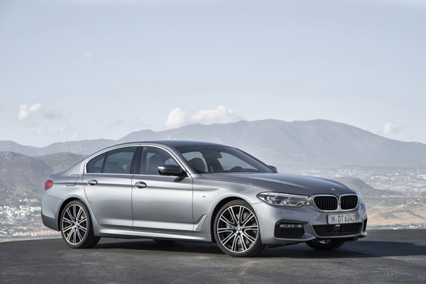 The new BMW 5 Series Sedan M Sport