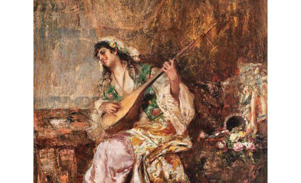 O importantă pictură de Aman, crezută dispărută vreme de 80 de ani, repatriată din Ungaria