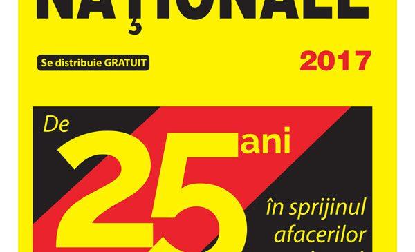 PAGINI NAȚIONALE aniversează 25 de ani pe piața B2B din România