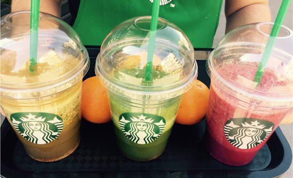 Starbucks întâmpină primăvara cu prima gamă de smoothie-uri din fructe și legume proaspete