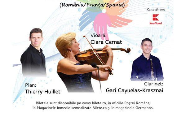 Trio Huillet în concert la cea de-a IV-a ediție a evenimentului SUFLET ÎN CULORI – Concert caritabil în beneficiul copiilor cu autism