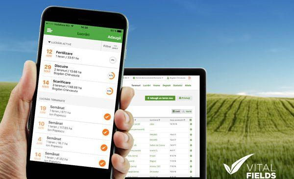 VitalFields, aplicația simplificată de management agricol, transformă agricultura digitală într-o inovație accesibilă