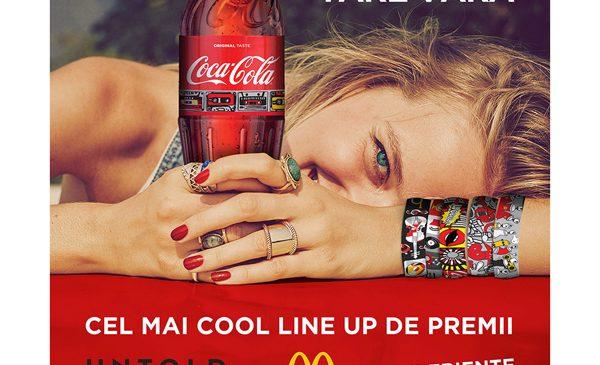 Sticla de Coca-Cola îți aduce brățara oficială pentru cea mai tare vară