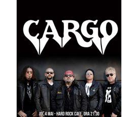 Concert CARGO in noua formula pe 4 mai la Hard Rock Cafe
