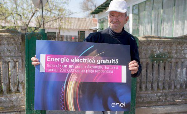 Enel este furnizorul preferat de 200.000 de clienți rezidențiali de pe piața concurențială de energie electrică