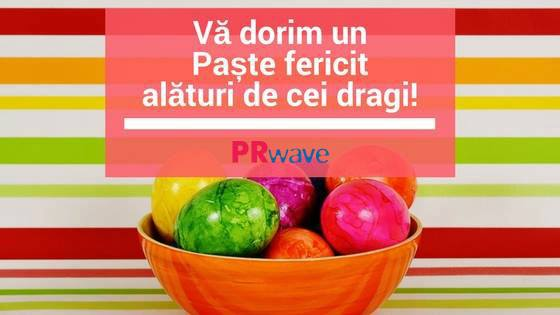Să aveți un Paște fericit!