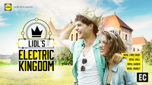 Lidl și MullenLowe oferă o experiență regală la Electric Castle