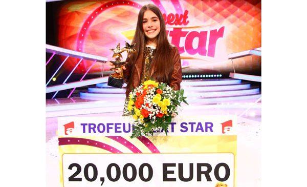 """Katia Cărbune a câștigat cel de-al optulea trofeu""""Next Star"""", iar emisiunea a fost lider de audiență pe all urban"""